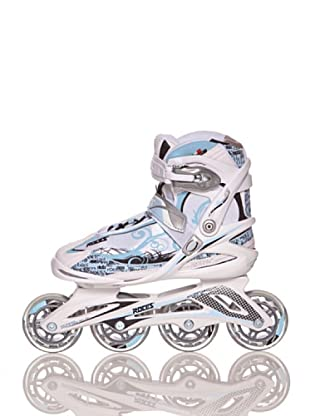 Roces Patines Yris (Blanco / Azul)