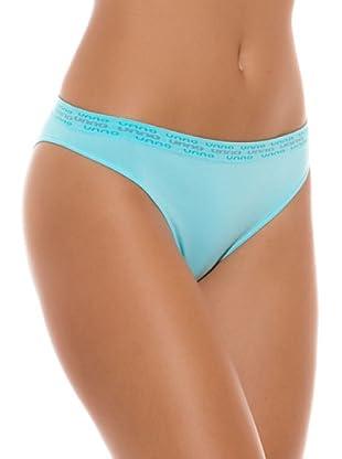 UNNO Braguita Bikini Pack x 2 Brasileño (Turquesa)