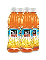 Minute Maid Pulpy Orange Express Pack 400ml (Pack of 4)
