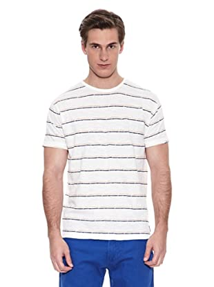 Springfield Camiseta Rb Broken Stripes (Blanco)