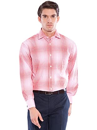 Hackett Camicia Quadri (Rosa/Bianco)