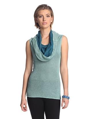 Josie Natori Women's Kiya Sweater (Sage)