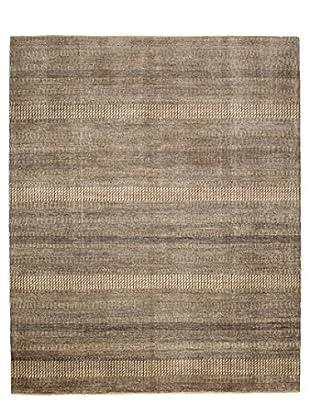 Darya Rugs Modern Oriental Rug, Dim Gray, 8' 2