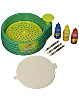 Crayola Spin Art Maker, Art Activity Toy, Kid-Powered, No Batteries, Great Gift