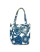 Ju-Ju-Be Be Light Tote Bag, Cobalt Blossoms