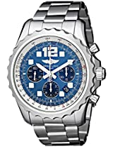 Breitling Men's A2336035-C833 Analog Display Swiss Automatic Silver Watch