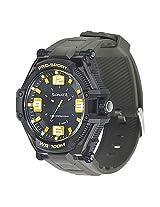 Sonata Analogue Black Men Wristwatch - 77029pp01