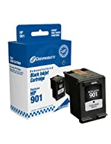 Dataproducts DPCC653AN Remanufactured Ink Cartridge Replacement for HP #901 (CC653AN) (Black)