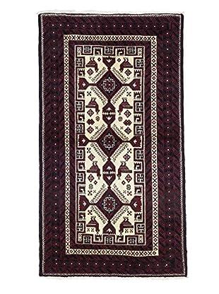 Darya Rugs Authentic Persian Rug, Red, 3' 3