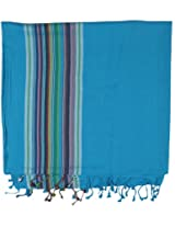 DHARA DESIGNS 1 Piece Face Towel - Blue