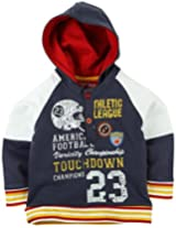 Infant Boys Sweatshirt With Hood - Blue (18 - 24 Months)
