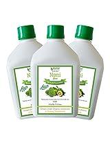 Bhumija Lifesciences Noni Juice (Sugar Free) 1 L (Combo Pack of Three)
