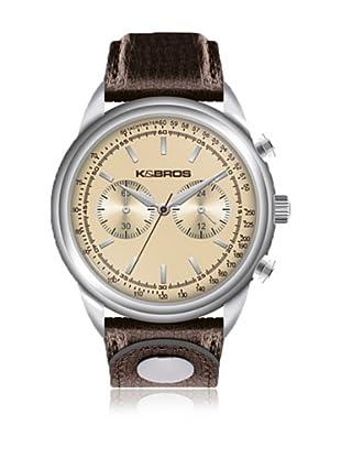 K&BROS Reloj 9491 (Marrón)