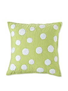 Amity Home Dots Pillow (Lime)
