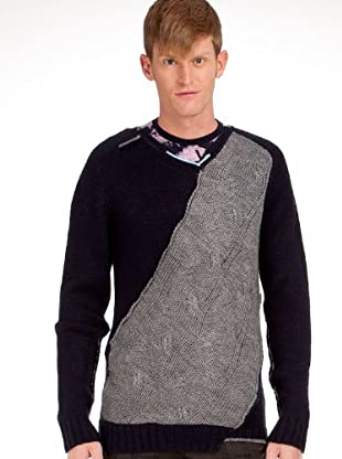 Custo Pullover (Blau)