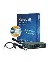 2 line USB Phone Recorder Korecall