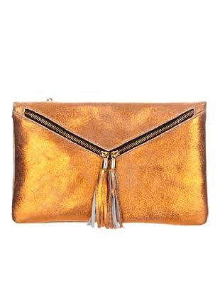 Satchel Bag Bolso Sobre (dorado)