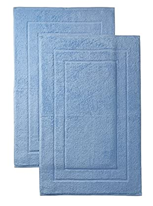 Espalma Set of 2 Signature Tub Mats (Cornflower)