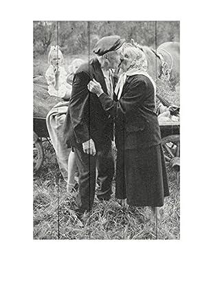 Really Nice Things Wandbild Grandpa Kiss