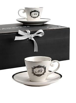 Amadeus Caja 6 Tazas Café N°8 Porcelana