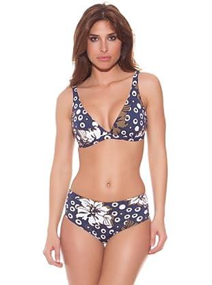 Ana Durán Bikini Royal (Blau)