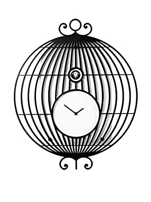 Diamantini & Domeniconi Reloj de Cuco Lollologio Negro
