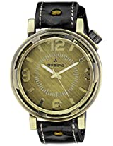 Aveiro Analog Brown Dial Men's Watch - AV70BLK