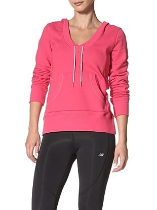 New Balance Yoga Women's Pullover Hoodie (Bright Rose)