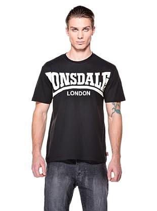 Lonsdale Camiseta Nantong (Negro)