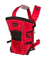 LuvLap Baby Carrier Blossom Red