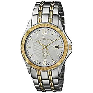 U.S. Polo Assn. Classic Men's USC80001  Two-Tone Bracelet Analog Watch