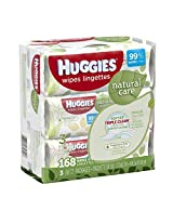 Huggies Wipes Natural Care