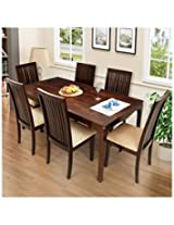Ringabell Elmond Ring105001115 Six Seater Dining Table Set (Brown)