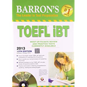 Barron's TOEFL IBT 2013 (13th Edition)