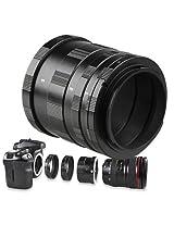 Macro Extension Tube Lens Ring for Canon 1100D,1000D,650D,600D,550D,500D,450D,400D,350D,300D,300V,300,60D,70D,60Da,50E,50,33,30,300 50E,50, 33,30,7D, 6D,50D,20D, 10D, 5D MarkIII, 5D Mark II, 1D X, 1D C, 1D mark III,3000