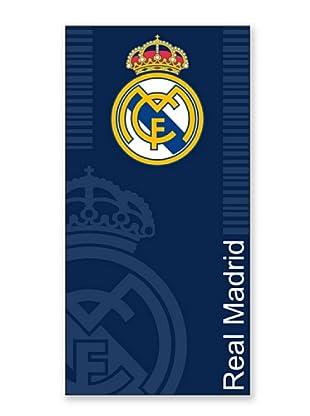 Secaneta Toallas de Playa Escudo Real Madrid (Azul)