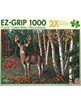 MasterPieces Autumn Sentinel EZ-Grip Jigsaw Puzzle, 1000-Piece