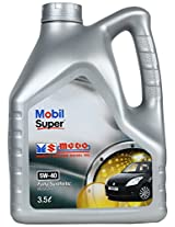 Mobil Super MGDO 5W-40 Synthetic Motor Oil (3.5 L)