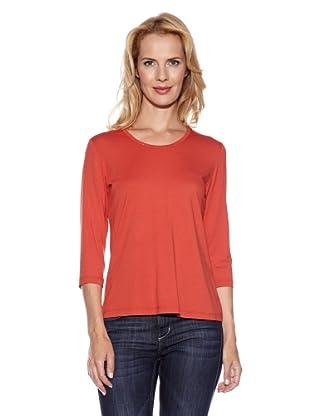 Frank Walder Shirt 3/4 Arm (Tomate)