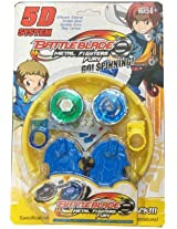 Stadium Beyblade Battle with 2 Beyblades & Launcher Bey Blade Spinning Tops