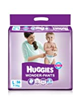 Huggies Wonder Pants Large Size Diapers (56 Count)