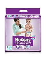Huggies Wonder Pants Large Size Diapers (56 Count)