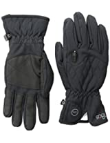 180s Women's Keystone Quantumheat Touchscreen Gloves with Led Light, Black, Large