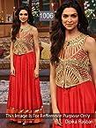 Deepika Padukone Rasberi Anarkali Suit