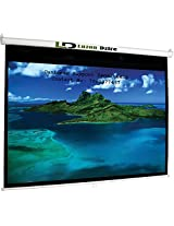 Luzon Dzire Pull Down Projector Screen, Size: - 9X5 Ft.(16:9)(IN IMPORTED HIGH GAIN FABRIC A+++++ GRADE)