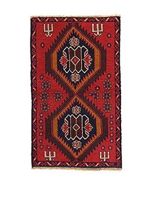 L'Eden del Tappeto Teppich Beluchistan rot/braun/blau 137t x t82 cm