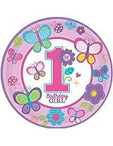 """PLT 10 1/2"""" MD SWEET BDAY GIRL"""