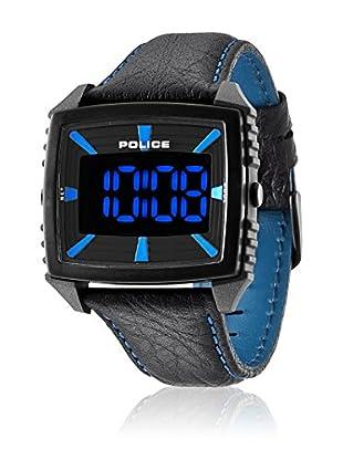 Police Reloj de cuarzo Man Countdown Negro 47 mm
