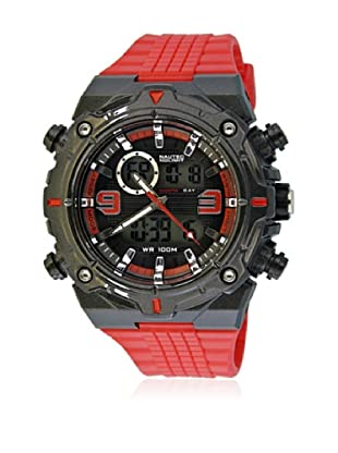 Nautec No Limit Reloj SP QZ-AD/PCRDPCBKBK-RD Rojo