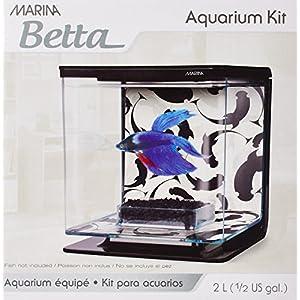 Hagen Marina Betta Aquarium Starter Kit, Ying/Yang
